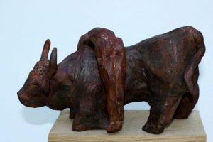 """""""Europa und der Stier"""", 17cm, Terrakotta"""