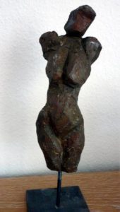 Terrakotta Torso, 20cm