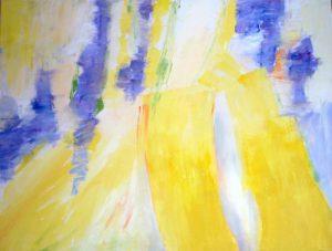 Eitempera auf Leinwand; 50 x70 cm