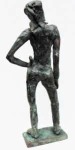 Bronze, Unikat, 12 cm hoch