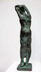 """Nach dem Bad"",Bronze, 18cm, Unikat"