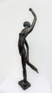 """Zoe"", Bronze, 20cm, Unikat"