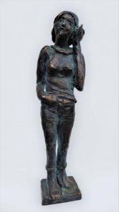 """""""Babs"""", Bronze, 21cm"""