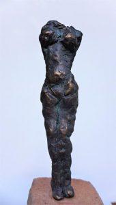 Bronze, 13cm auf Stein