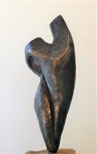 Bronze, 15cm auf Granitstein